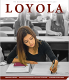 The winter issue of Loyola magazine